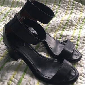 Frye Black Day Sandals